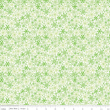 Home for the Holidays - Snowflakes green