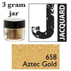 Pearl Ex Mica Powdered Pigments - 3g bottles - AZTEC GOLD 658