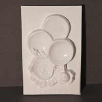 Mould 54205- Clown with Balloons