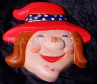 Mould PM 2265 - Happy Witch