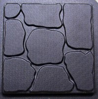 Garden Stones Paver Mould 600x600x50mm CM 6070
