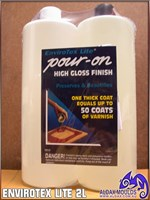 Envirotex Lite - Pour On - High Gloss Finish 2L Kit (Aus Customers Only)