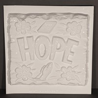 "Mould 50061 - ""HOPE"" Plaque"