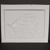 Mould 56944 - Sailing Ship Plaque