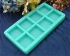 R0189 Soap Silicone Mould - Basic Squares (8)