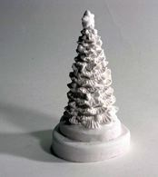 LM 1024 Christmas Tree Latex Mould/Mold for Plaster/candle/Soap/Concrete