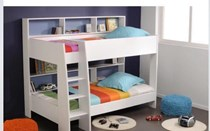 Bunk Bed KING single with Storage White NEW IN BOX LIMITED STOCK