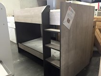 Single bunk low design grey EURO DESIGN MADE IN FRANCE