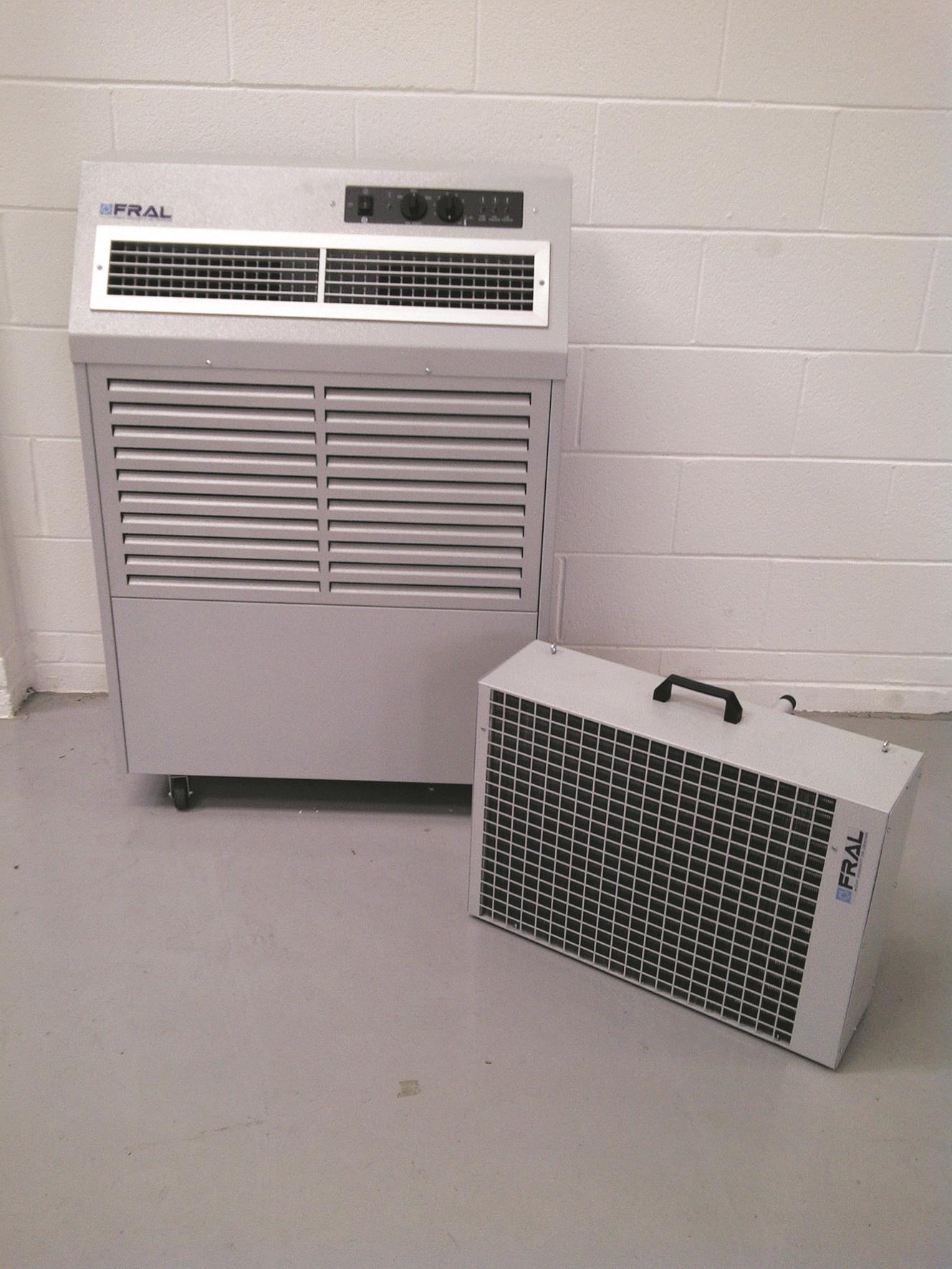 Fral Avalanche 7kw 23 000btu Split Portable Water Cooled
