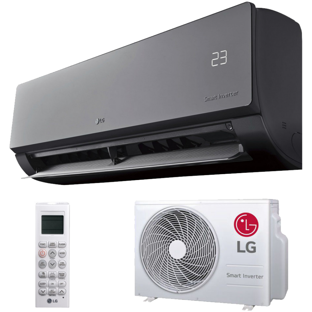 Lg Am09bq Artcool 9 000 Btu 2 5kw Wall