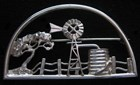 Windmill Brooch