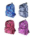 Pour Moi Ladies/ Girls Floral Design A4 Backpack/ Rucksack